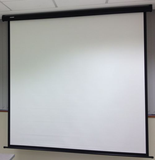 Comm Motorised Projector Screen - W84 x H84