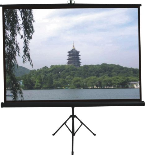 Comm Tripod Projector Screen - W96 x H96 inch