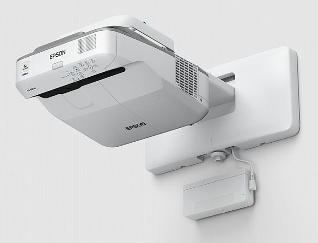 Epson EB-695Wi LCD Projector WXGA 3500 ANSI (Ultra-Short Throw)