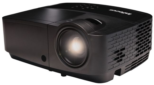 InFocus IN122a DLP Projector SVGA 3500 ANSI